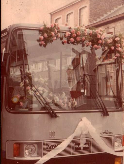 trouwfeest- Mariage  1980