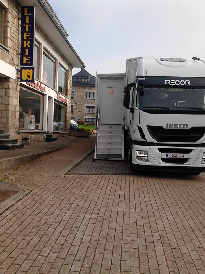 Iveco in de ardenne
