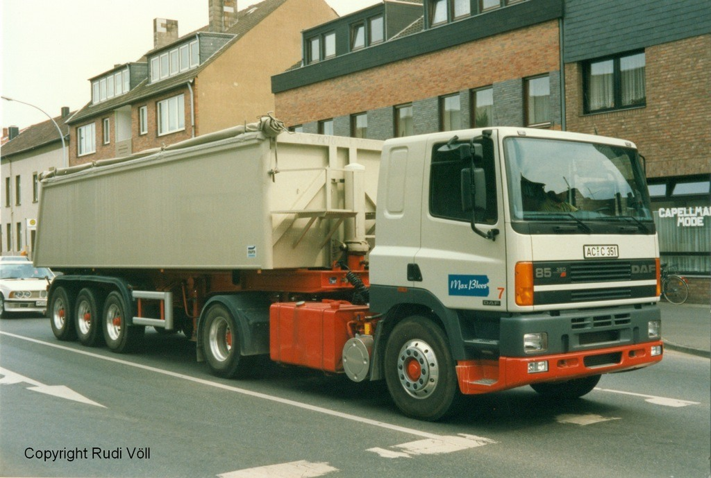 DAF FT85 KiSa Max Blees  firma schlenter.