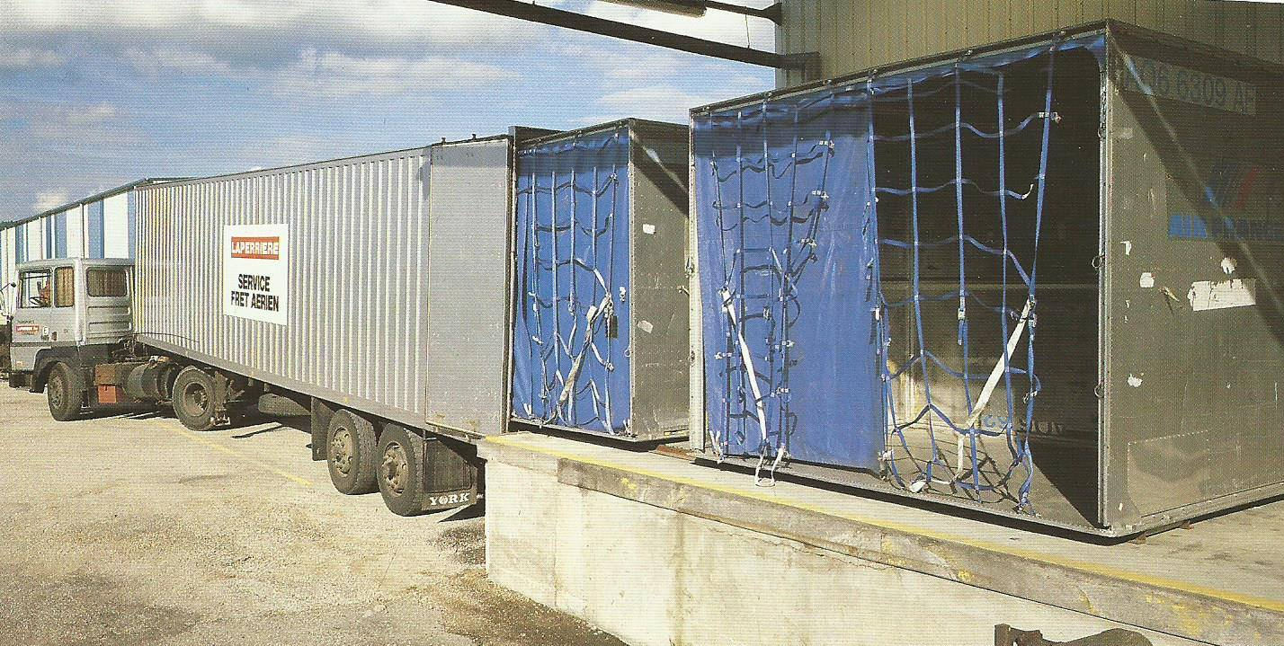 0  luchtvracht containers