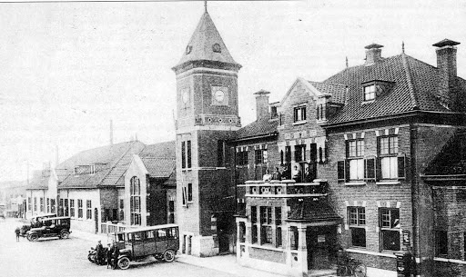 6 1927  station Heerlen.