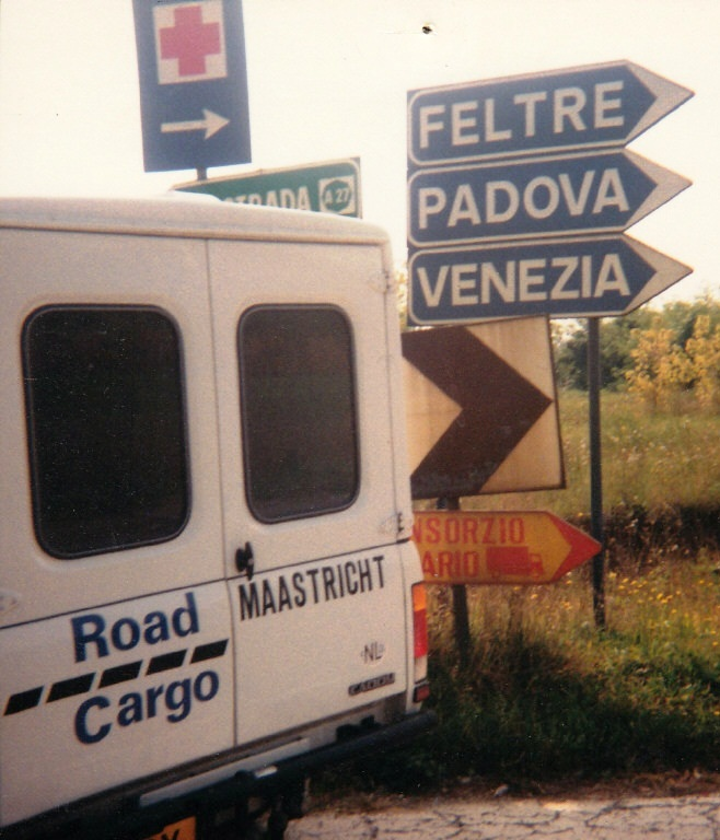 Road Cargo bij Pordenone VW Daddy
