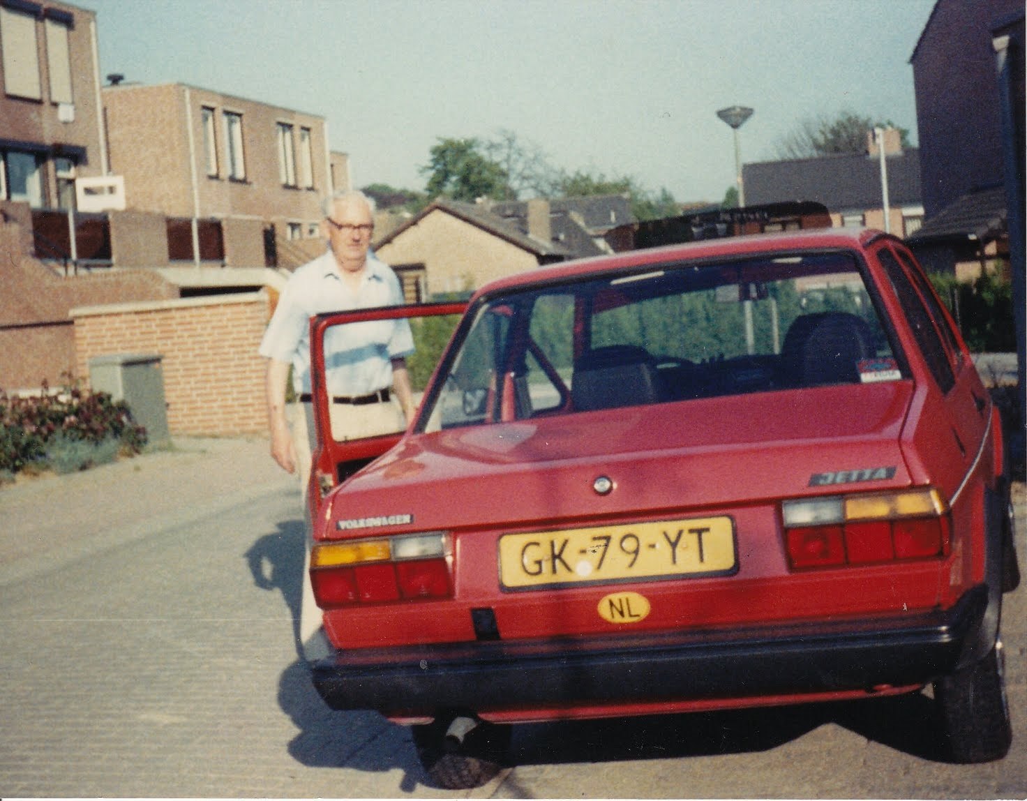0 Paul met de VW Jetta