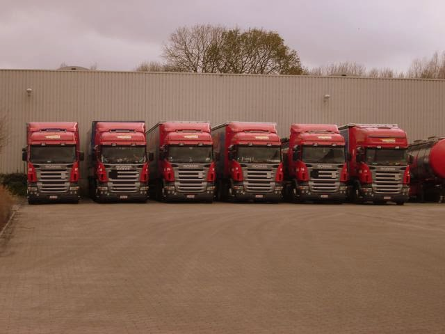 Parking Scania R
