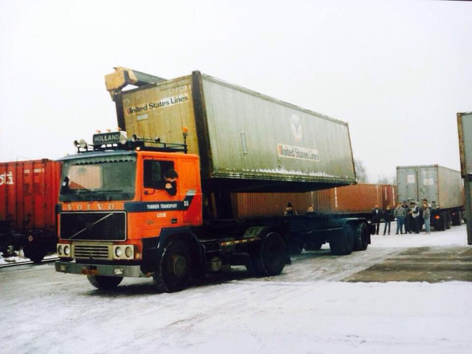 Volvo Container.