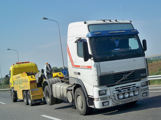 Volvo FH 12 in Rusland