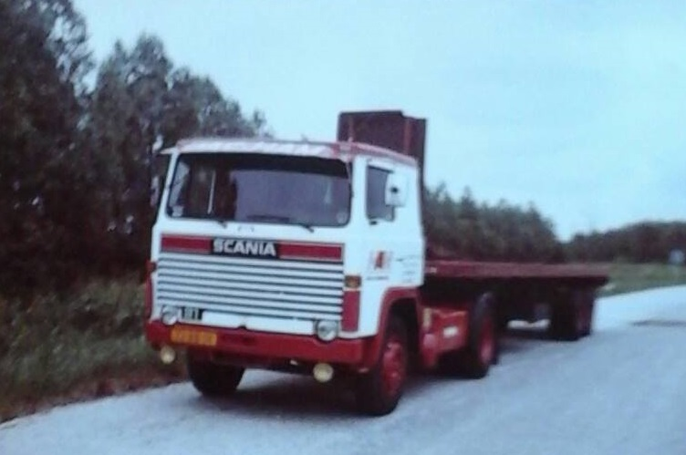 Y Tom de Haan Scania