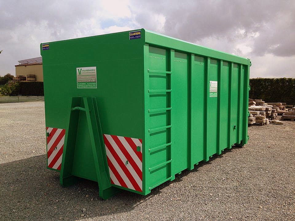 opslag container.