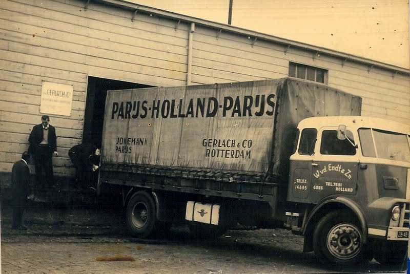 Gerlach Paris met de Daf DO