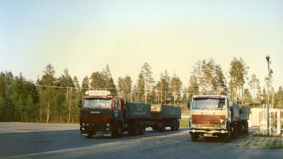Scania 141 Bent A. Hansen