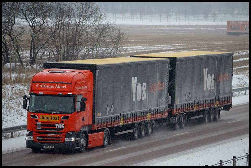 Scania in Zweden