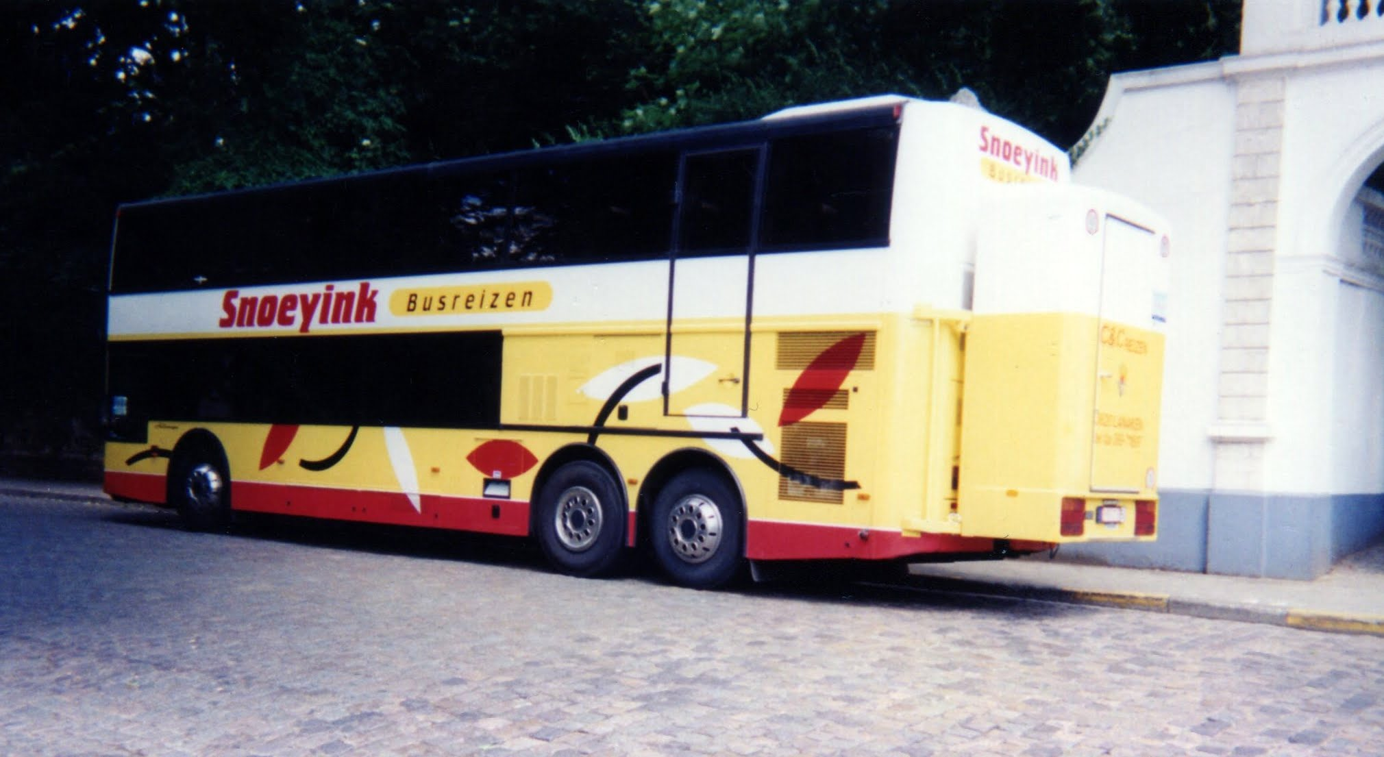 Vanhool pendel bus
