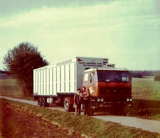 DAF 2800 duiventransport