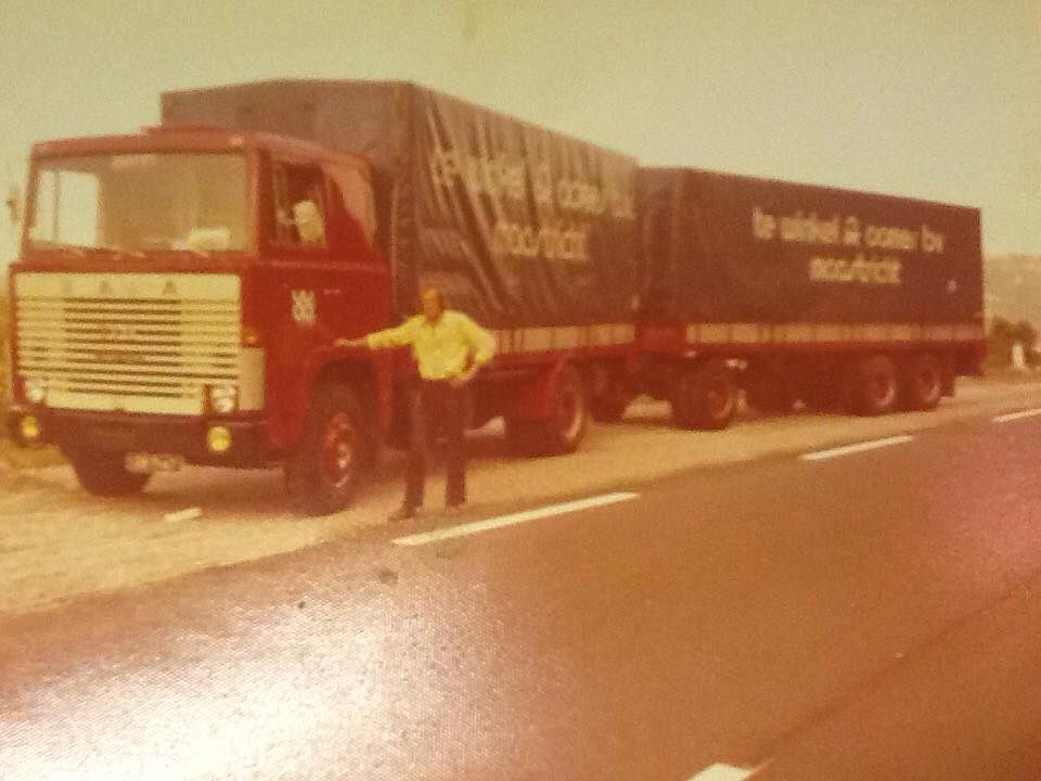 Scania  110 Super  Jean Tummers in Valence ca 1975
