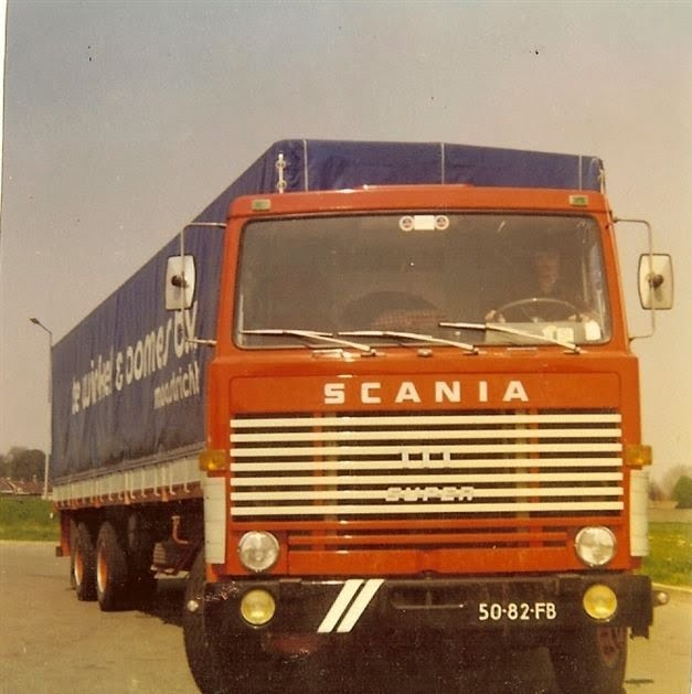 Ton in de Scania