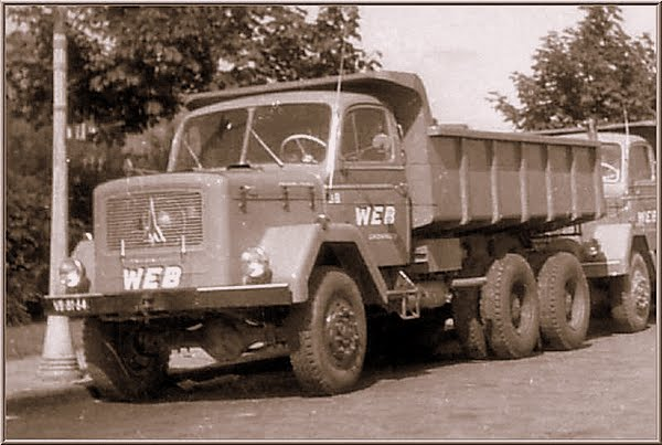 6X6 Magirus Deutz.  jacob Ritsema