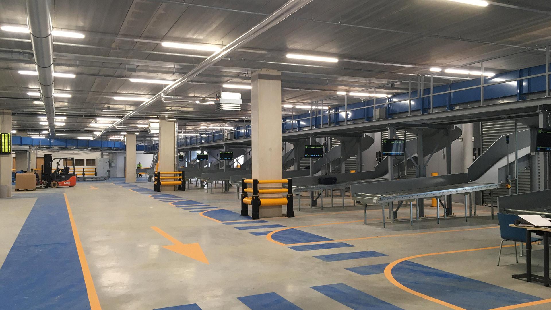 Nieuwe bagagehal Eindhoven Airport operationeel