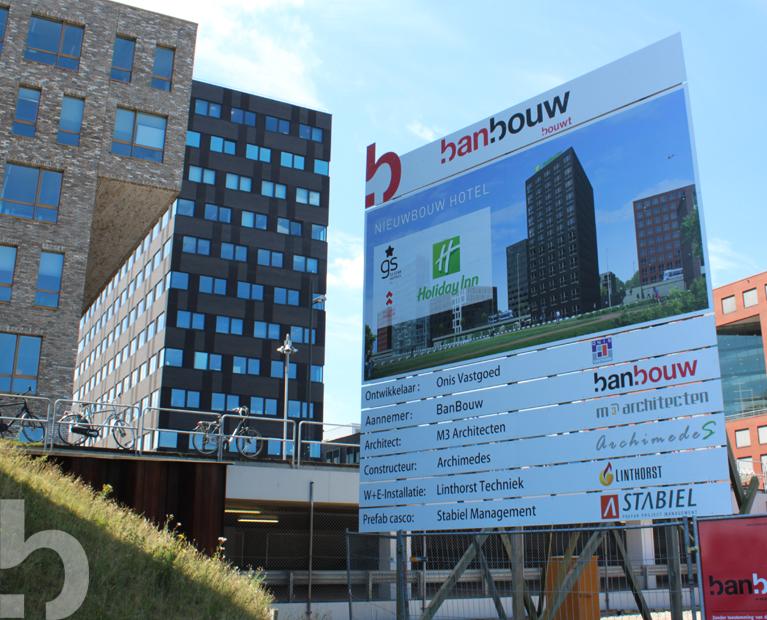 Start bouw Holiday Inn hotel - Flight Forum Eindhoven