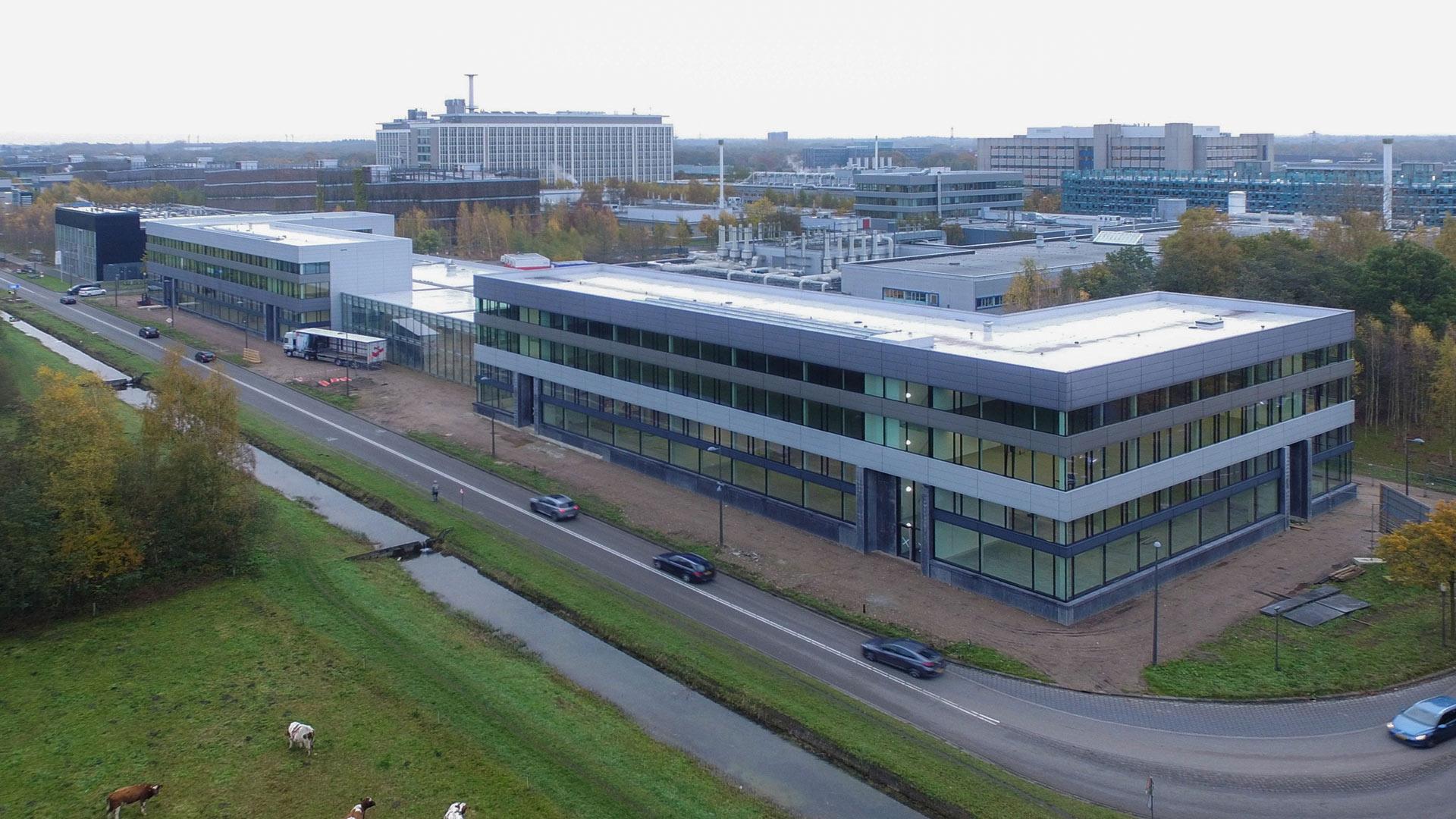 Hoogste punt Smart Industry Hub - High Tech Campus Eindhoven