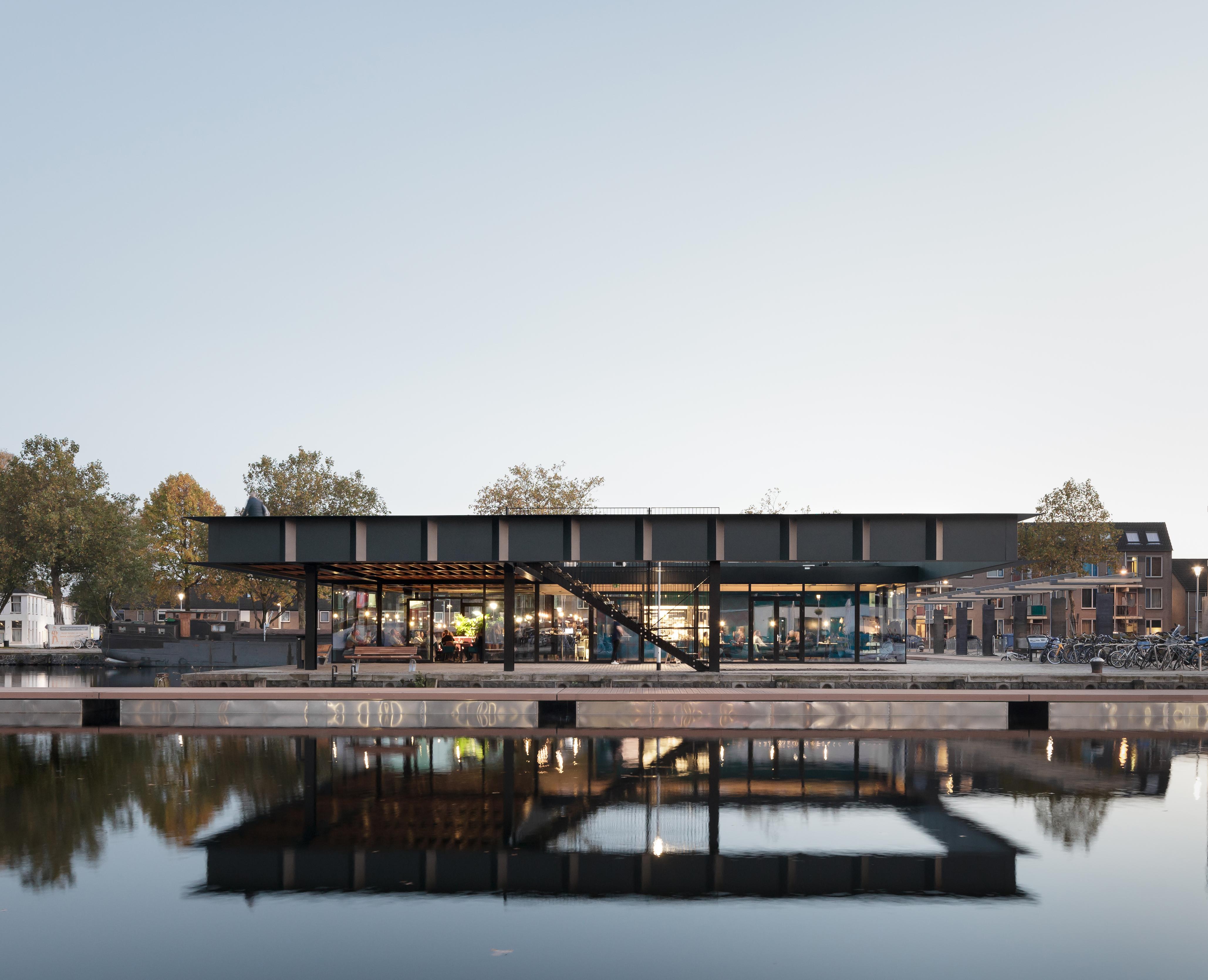 Paviljoen Piushaven genomineerd voor Architectenweb Award