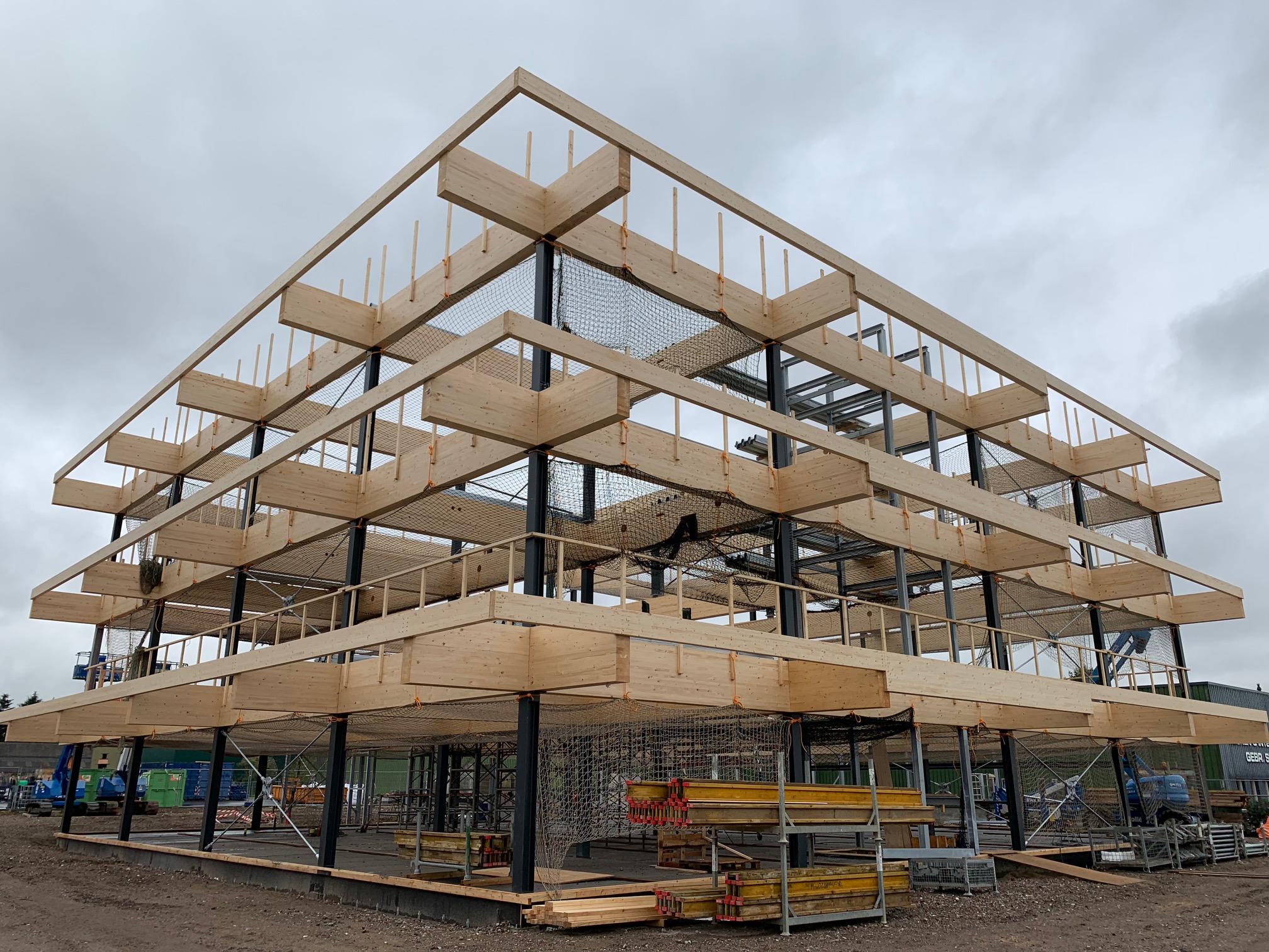 Nieuwbouw Honeywell Veldhoven krijgt vorm
