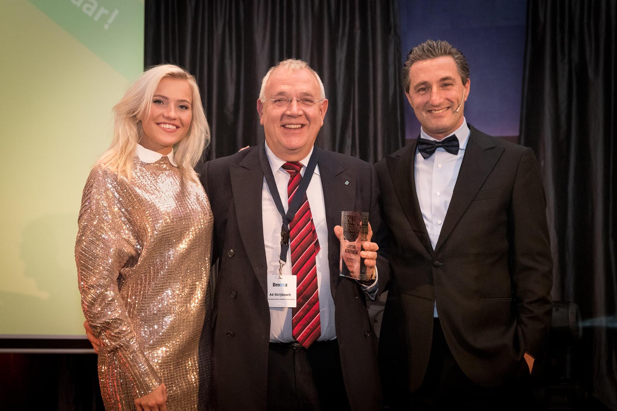 Voorzitter van de BOBB ontvangt de Lifetime Achievement Award