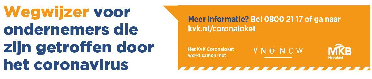 Informatie tijdelijke noodmaatregelen Corona