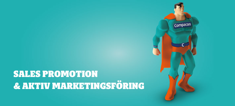 Sales promotion & aktiv marknadsföring