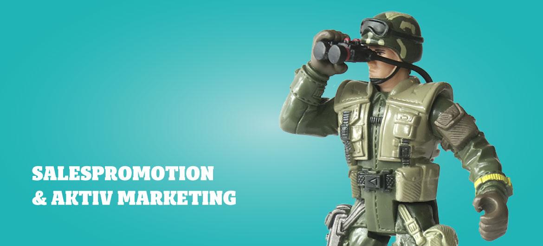Sales promotion & aktiv marketing