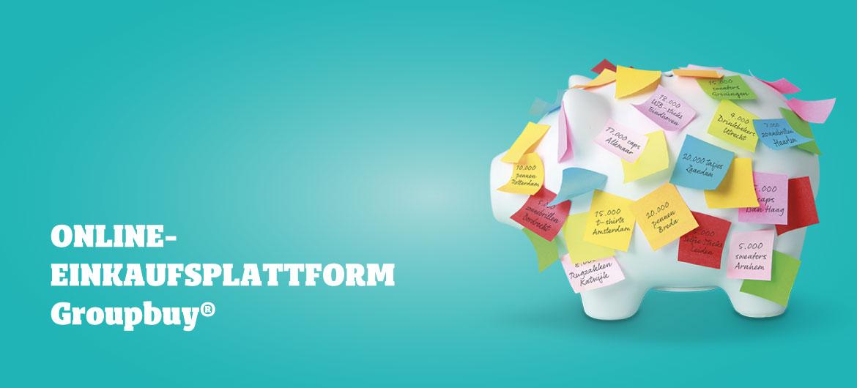 Online-Einkaufsplattform Groupbuy®
