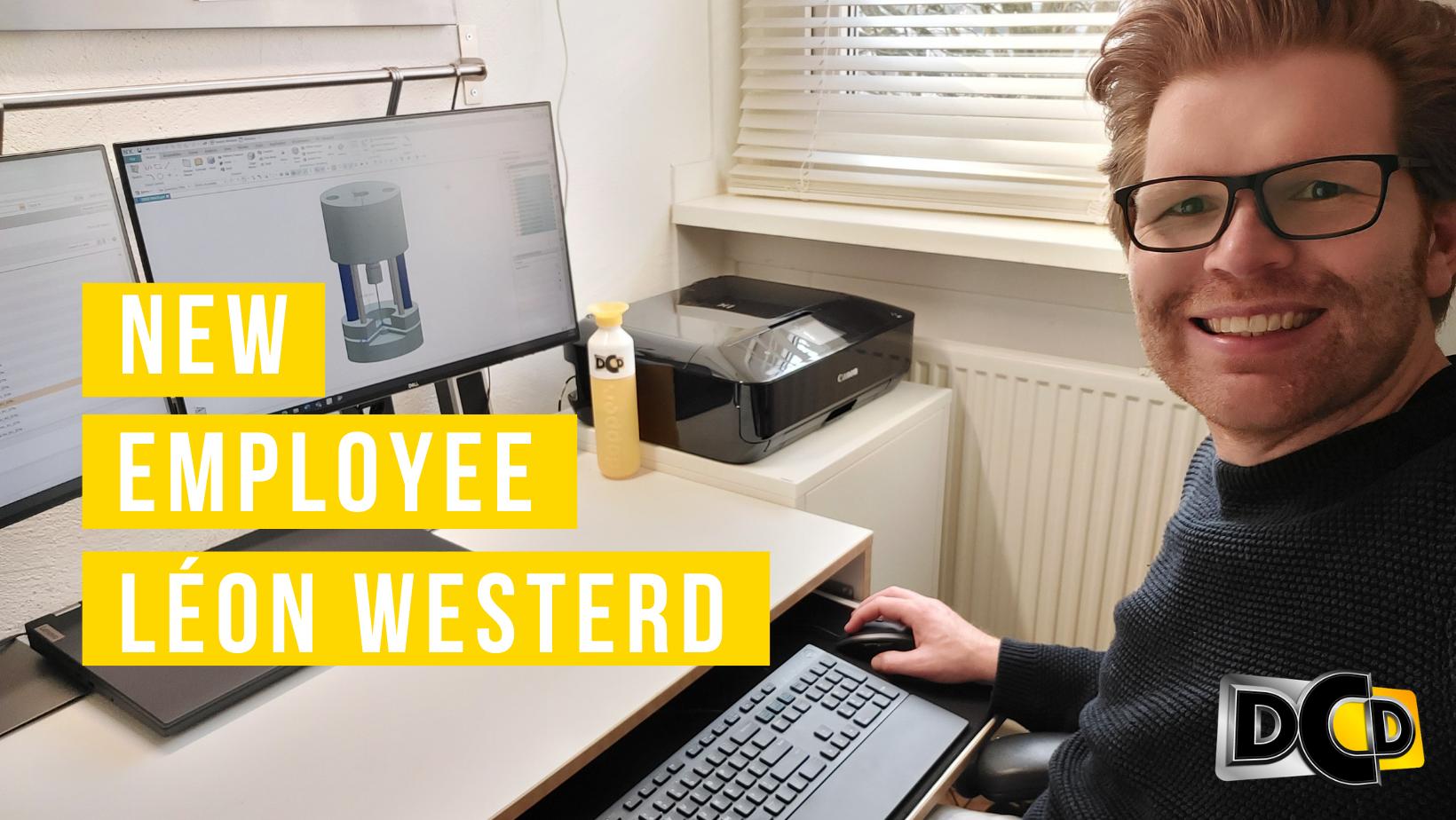 Welcome Léon Westerd!