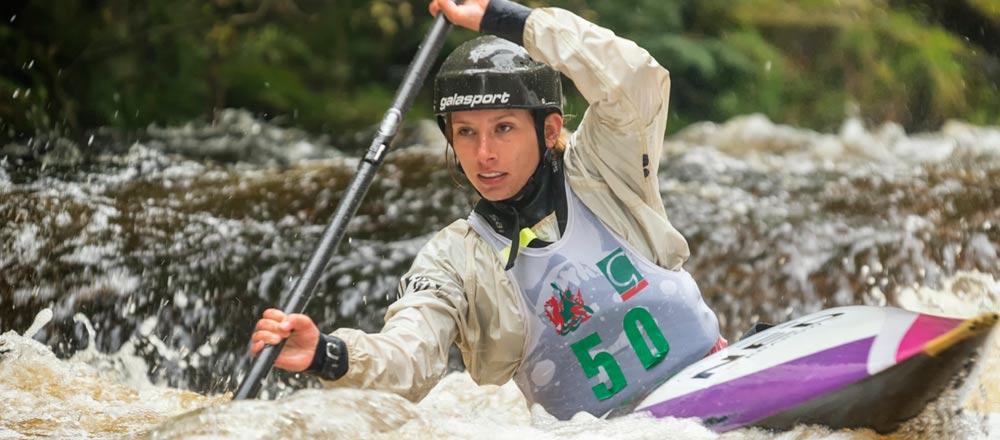 DCD sponsors Canoe Slalom Star Maartje Otten