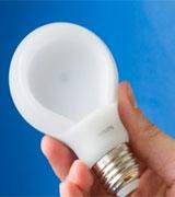 Nieuwe Philips LED-lamp is plat