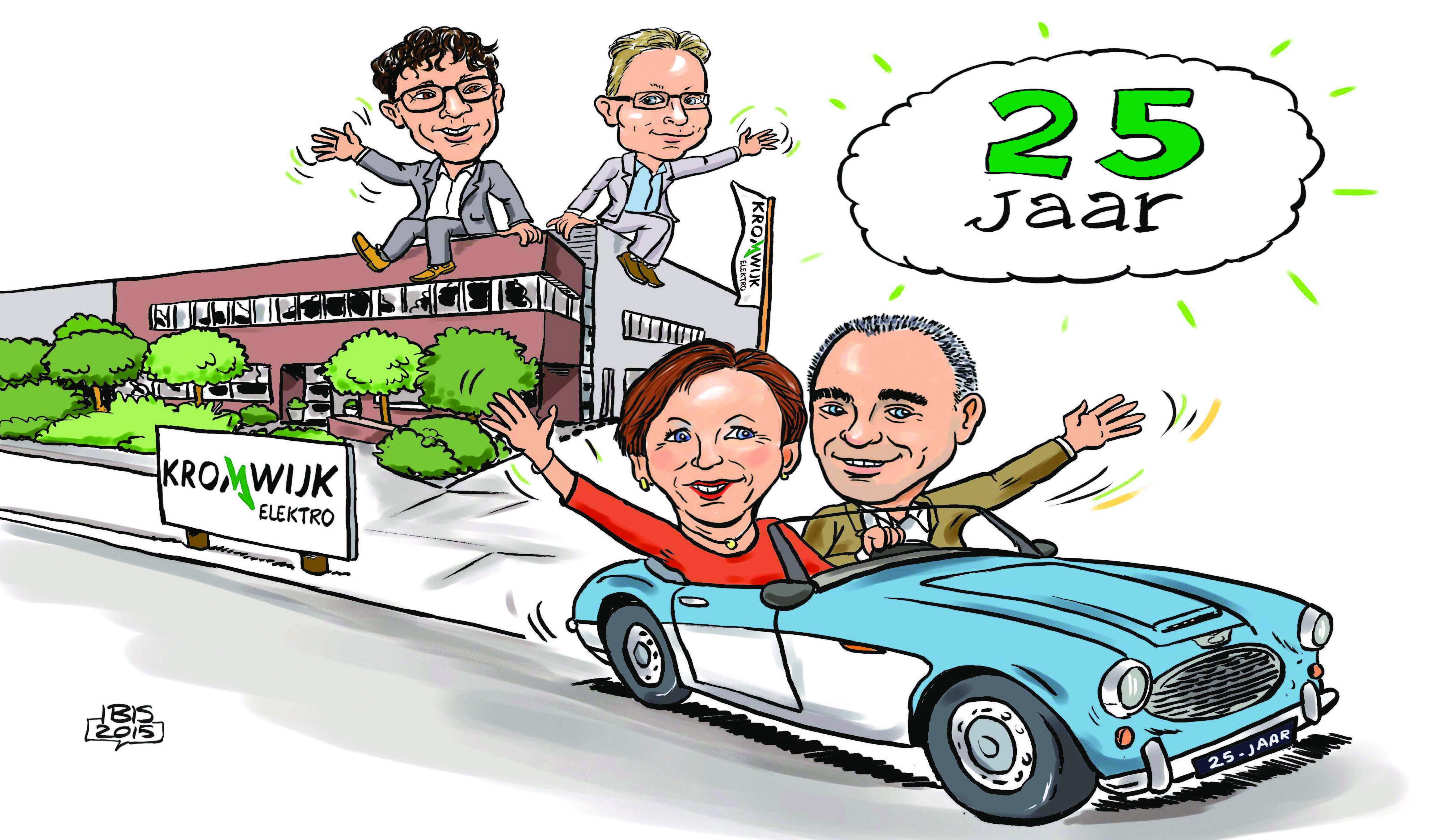 2015 Feestjaar voor Kromwijk Elektro