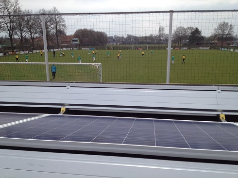 Bink Solar PV bij sportvereniging