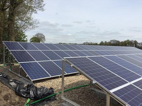 Binks Solar Chaam, Martens 28.600 Wp 1