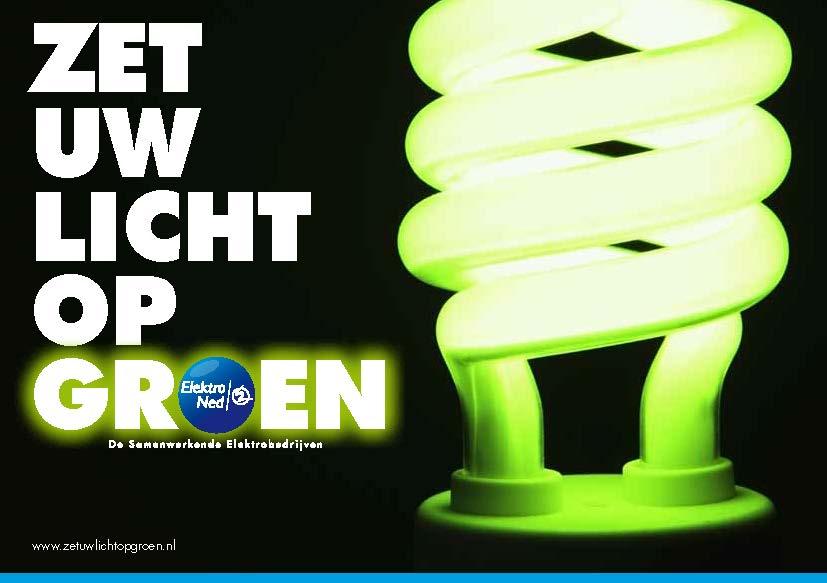 ElektroNed zet uw licht op groen!
