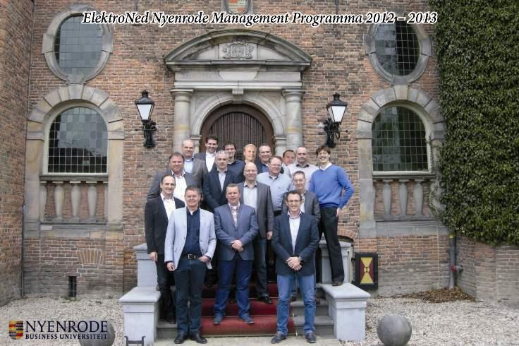 ElektroNed-Nyenrode Management Programma 2012-2013