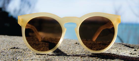 Zonnebril van Dick Moby