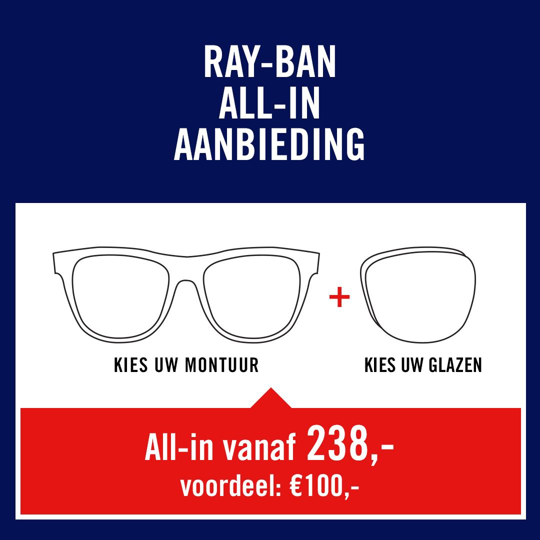Ray-Ban actie
