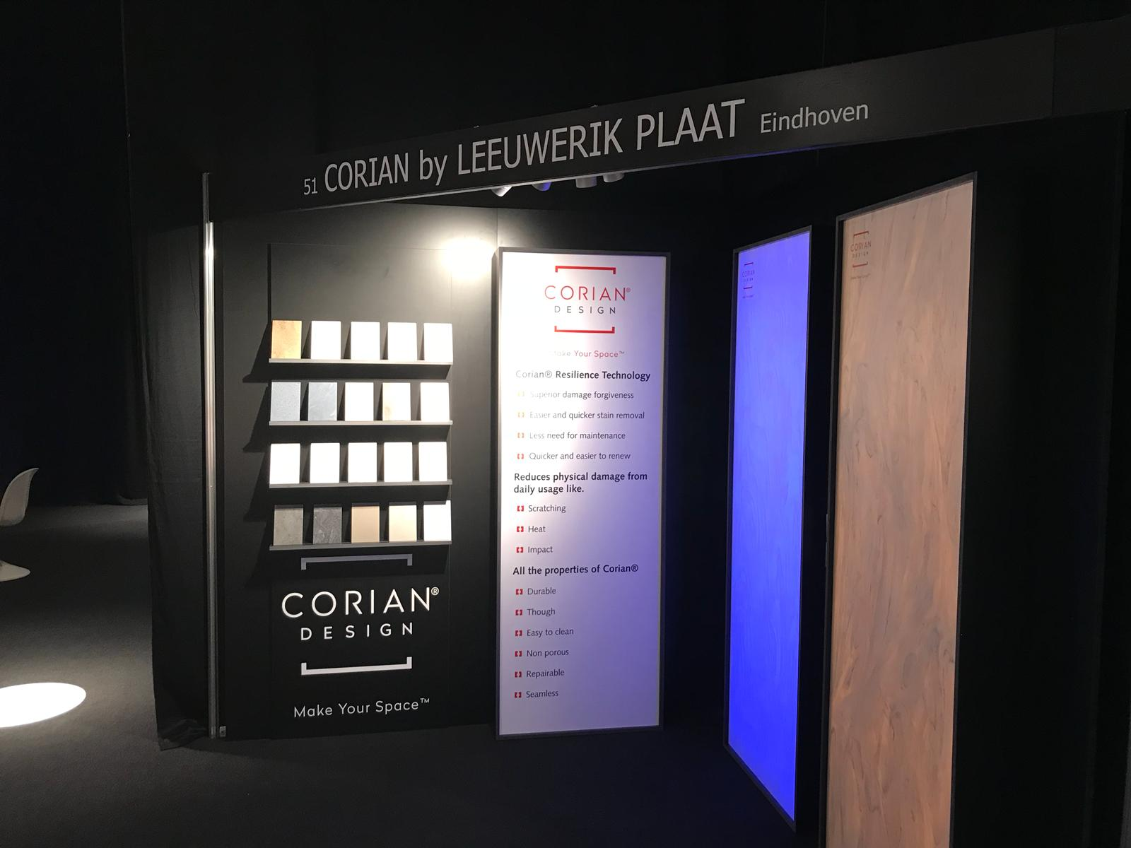 Innovaties van Polyrey en Corian® op Architect@Work