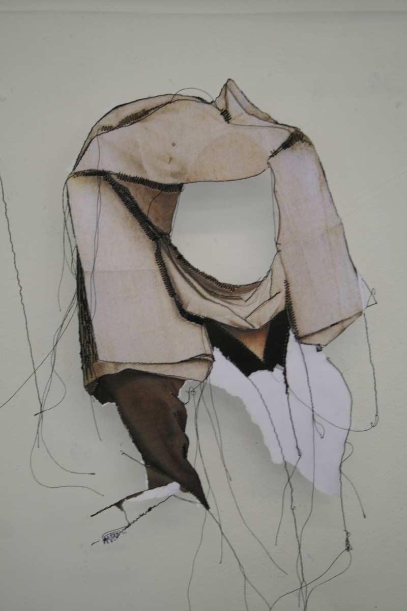 Miriam L'Herminez | diversiteit #1 | mixed media | 70x50