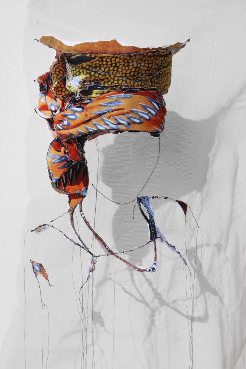 Miriam L'Herminez | diversiteit #10 | mixed media | 80x60