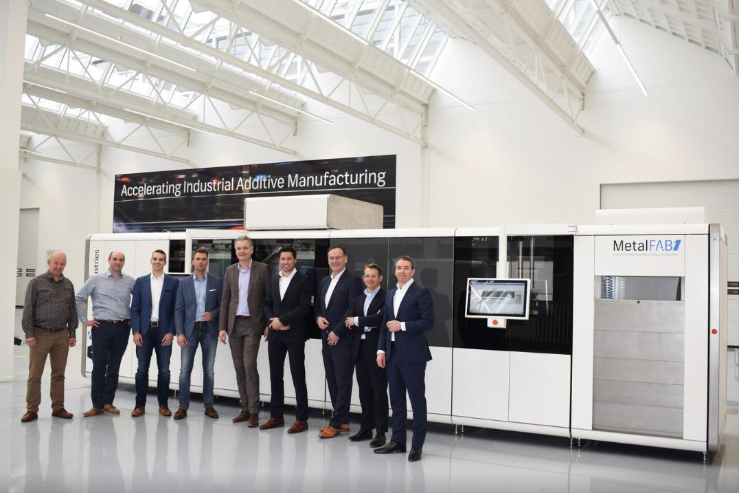 3D metaalprinter uit Eindhoven gaat in BIC meer produceren