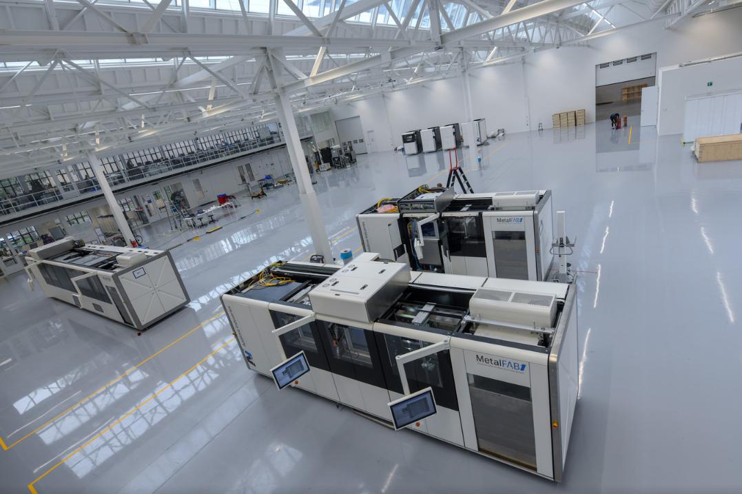 De productiehal van Additive Industries in Eindhoven. © Dave Hendriks - Foto Meulenhof