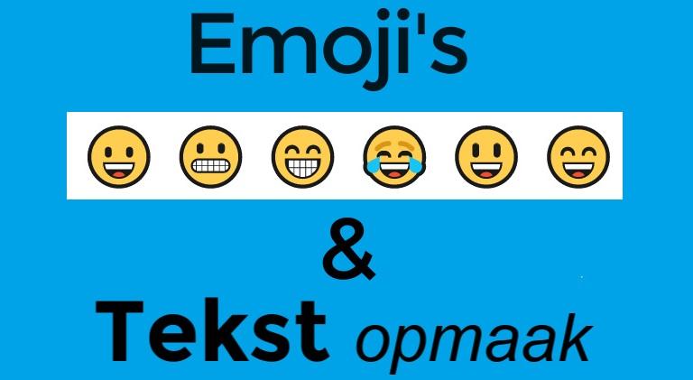 Pimp je LinkedIn bericht met Emoji's