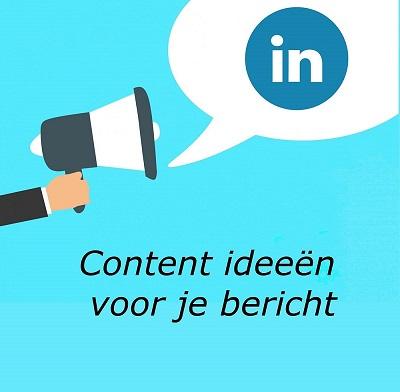 Content ideeën voor je bericht