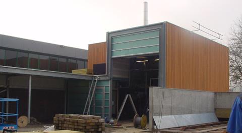 Hoogste punt Bio-energiecenteale bereikt
