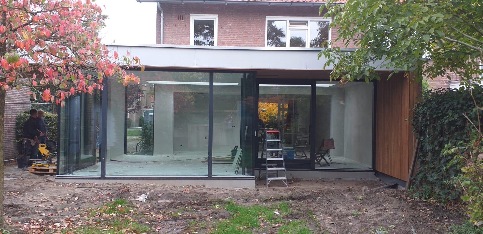 Aanbouw en verbouwing Eindhoven