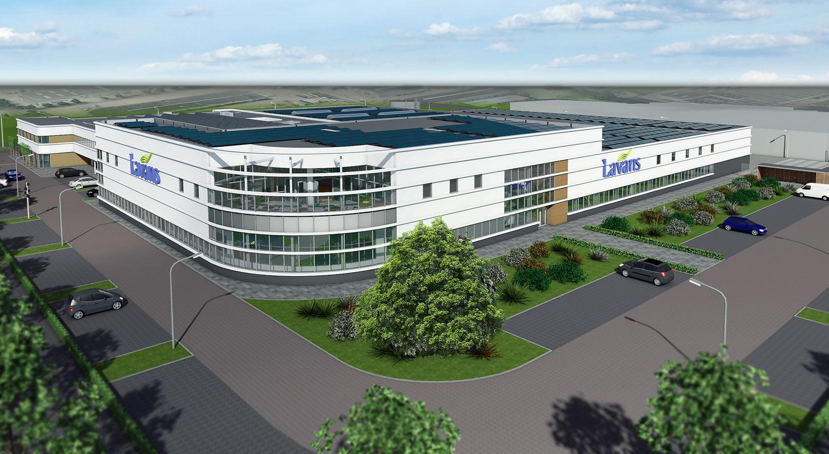 Breeam Outstanding gebouw Lavans industriele wasserij hebben we opgeleverd!